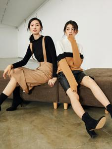 2018优衣美女装时尚套装
