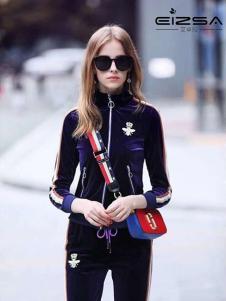 艾卓拉女装黑色修身外套