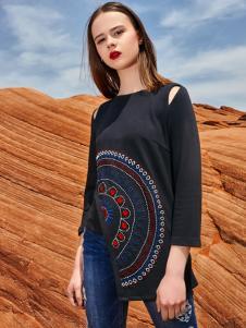 2018印巴文化女装刺绣上衣