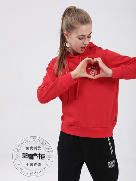 格蕾斯(芝麻e柜)女装秋冬新款运动卫衣
