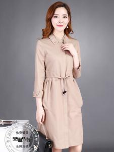 格蕾斯(芝麻e柜)女装秋冬新款收腰显瘦大衣