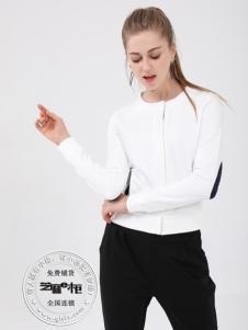 格蕾斯(芝麻e柜)女装秋冬新款白色卫衣
