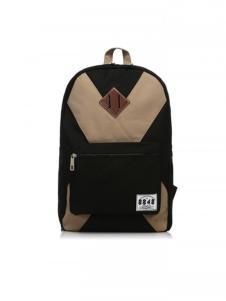 8848黑色时尚双肩包
