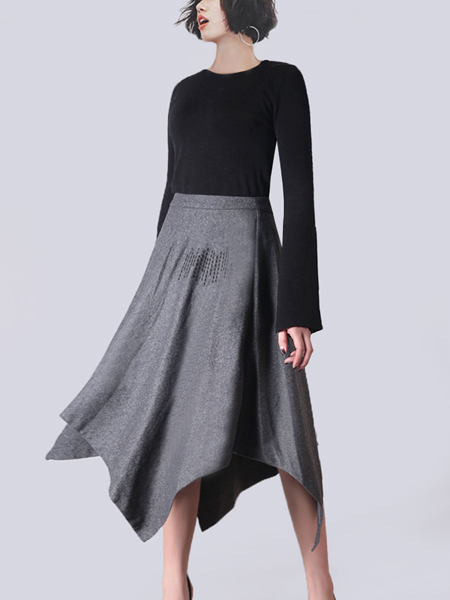 2018零时尚女装时尚半裙