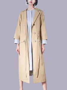 2018零时尚女装经典风衣