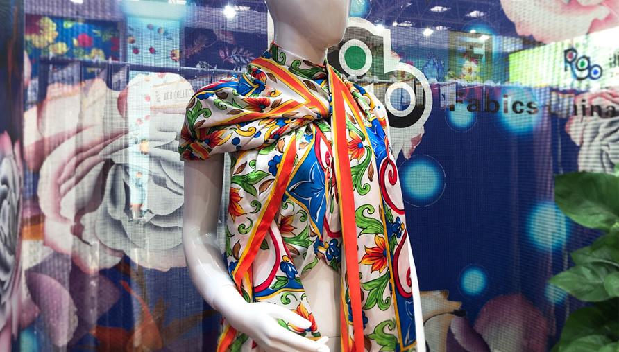 中国柯桥纺博会