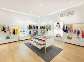Kenzo Kids在香港开设首间自营店