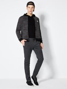 2018梵思诺男装黑色短款外套