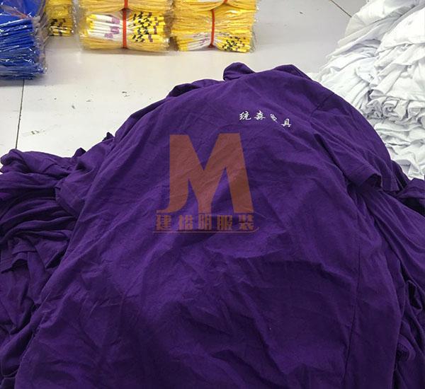 紫色女装T恤厂家直销一手货源,建裕明服装厂