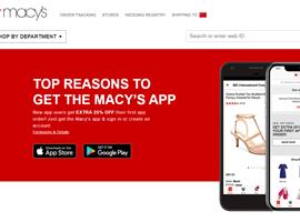 梅西百货推行全面数字化改革 移动付款 虚拟试衣等服务
