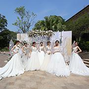 花园城市【美林湖】昨日授牌国际婚拍圣地