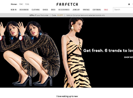 奢侈品电商Farfetch上市股价大涨42.3% 市值超80亿美元