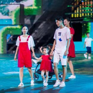 T100!深圳改革开放40周年汇演指定童装品牌