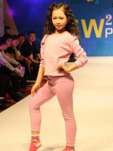 百变娃童装粉色儿童内衣