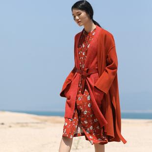 因为女装加盟  深圳设计师森女棉麻文艺风格品牌女装!