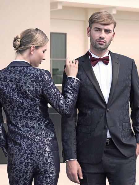 2018富绅男装西装