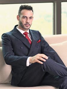 2018富绅男装商务西服