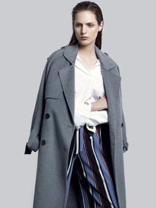 2018夺宝奇兵女装灰色大衣
