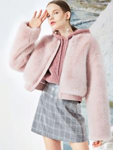 2018夺宝奇兵女装粉色外套