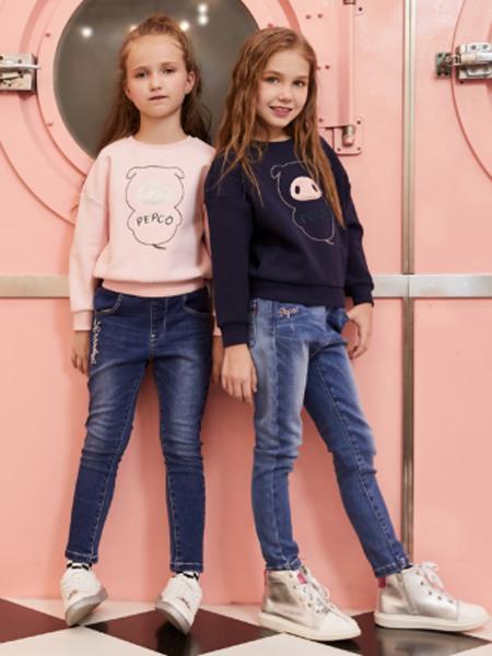 2018小猪班纳女童新款卫衣