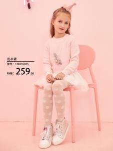 2018小猪班纳女童粉色套装