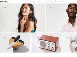 线上时尚购物平台Spring将整体出售 估值或低于融资金额