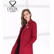 让人羡慕不已的大衣有哪些 DISIR迪丝爱尔新款让你走路亦带风