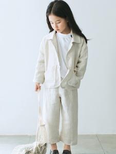 ENHENN童装白色时尚外套