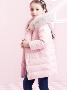 2018杰米熊女童羽绒服粉色系列