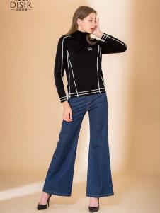 迪丝爱尔18新款休闲裤