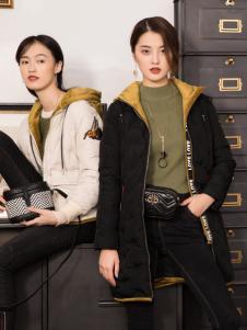 2018布根香女装韩版羽绒服