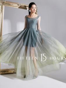 15小时2018新款社交连衣裙