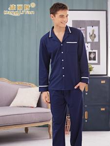 康丽妍男式藏青睡衣