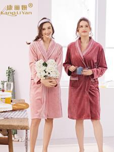 康丽妍女式系带睡袍