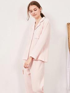 tincoco女式粉色休闲家居服