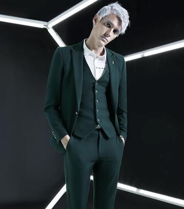 新升流派男装,注重艺术与文化的结合