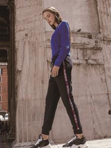 VISENIYA女装紫色T恤