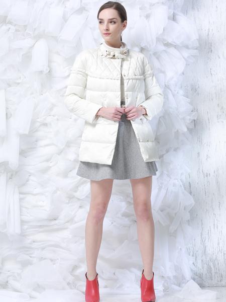 DerliGalam白色羽绒服