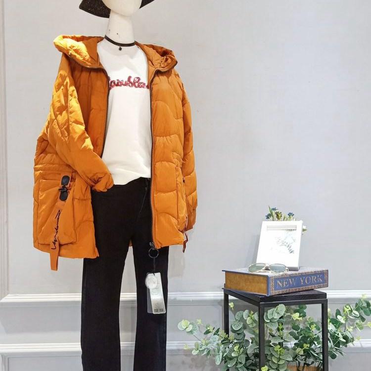 品牌折扣女装冰冰羽绒服货源分份批发