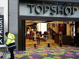 英国高街门店销售连续八个月下滑 零售业表现最差的一年