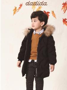 嗒嘀嗒冬季新款男小童羽绒服