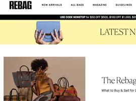 美国二手奢侈品包袋寄售网站Rebag推出