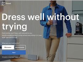 男士个人时尚造型电商平台Thread获2200万美元B轮融资