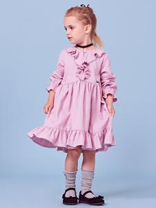 2018可米芽童装时尚连衣裙