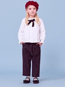 2018可米芽女童时尚套装
