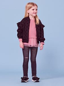 2018可米芽女童时尚外套