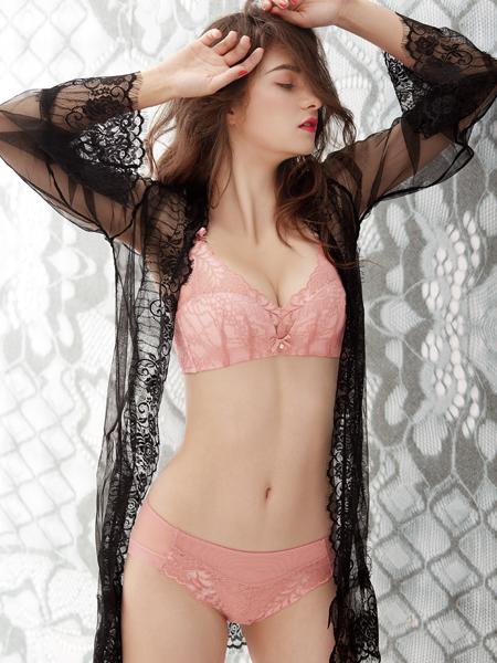 诗曼芬新款粉色问下套装