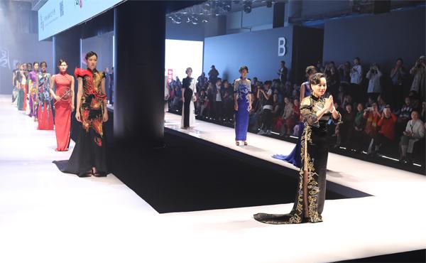 香黛宫·龚航宇——海丝·甬香旗袍秀惊艳宁波
