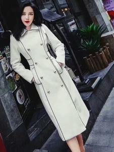 雨珊女装长款优雅风衣