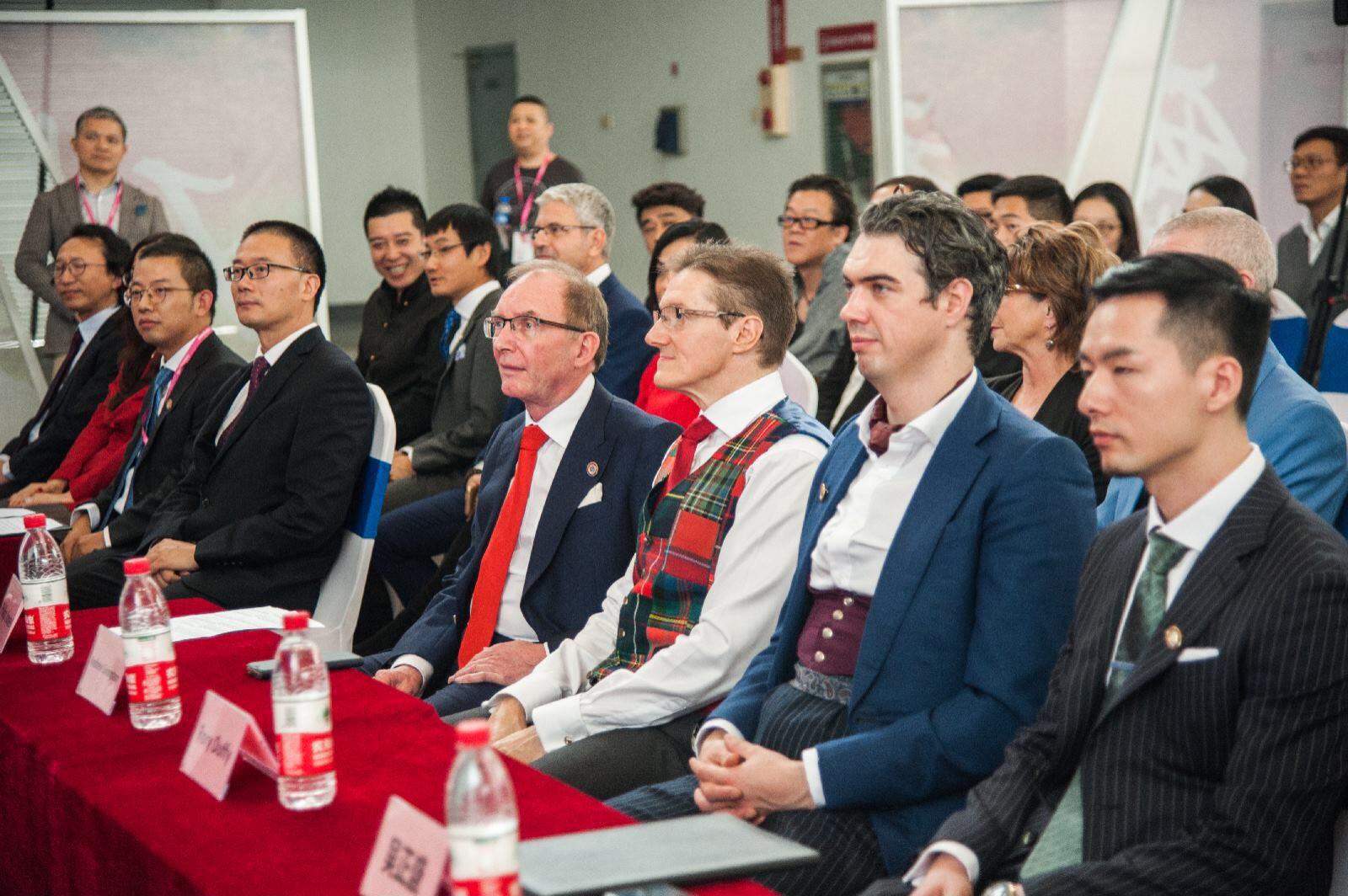 宁波服装节|英国高定联盟(中国)中心新闻发布会圆满成功